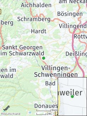 Here Map of Mönchweiler