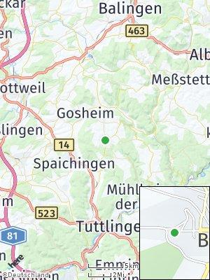 Here Map of Böttingen