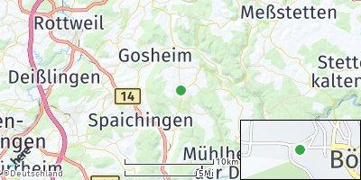 Google Map of Böttingen