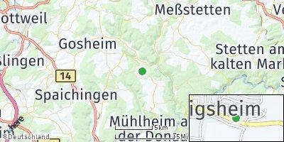 Google Map of Königsheim