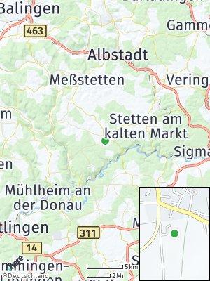 Here Map of Schwenningen