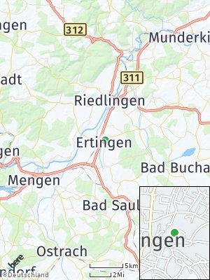 Here Map of Ertingen