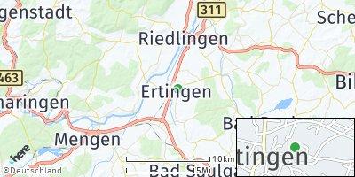 Google Map of Ertingen