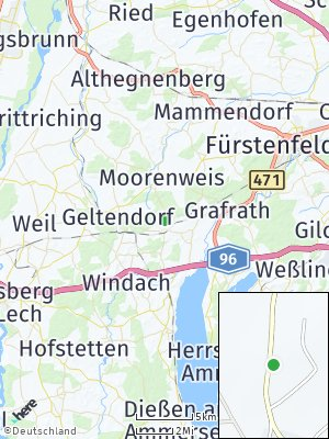 Here Map of Türkenfeld