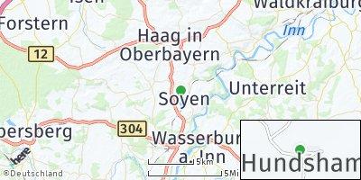 Google Map of Soyen