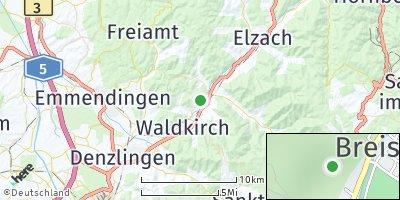 Google Map of Gutach im Breisgau