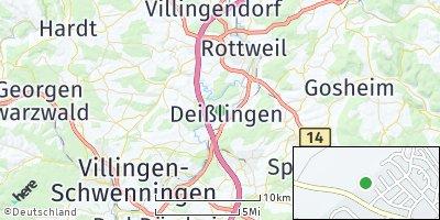 Google Map of Deißlingen