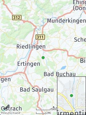Here Map of Dürmentingen