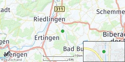 Google Map of Dürmentingen
