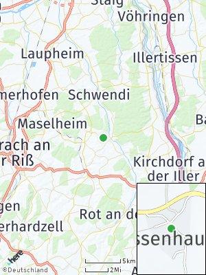 Here Map of Gutenzell-Hürbel
