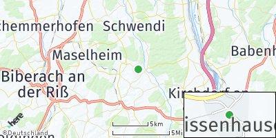 Google Map of Gutenzell-Hürbel