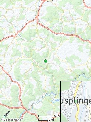 Here Map of Nusplingen