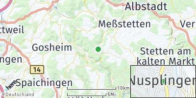 Google Map of Nusplingen