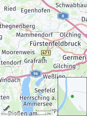 Here Map of Schöngeising