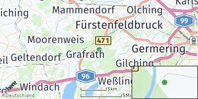 Google Map of Schöngeising