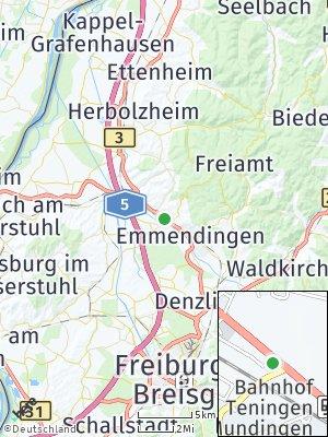 Here Map of Teningen
