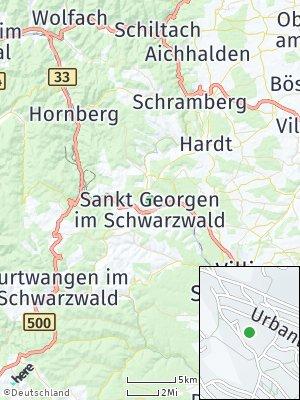Here Map of Sankt Georgen