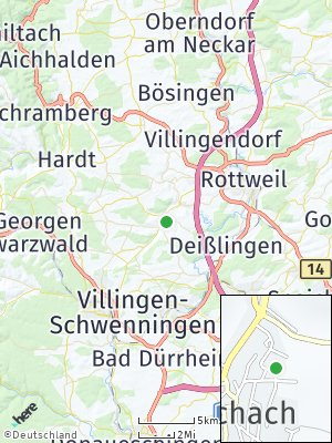 Here Map of Niedereschach
