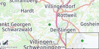 Google Map of Niedereschach