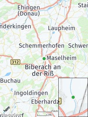 Here Map of Warthausen