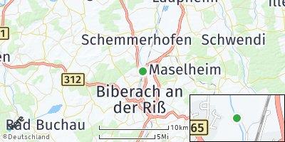 Google Map of Warthausen