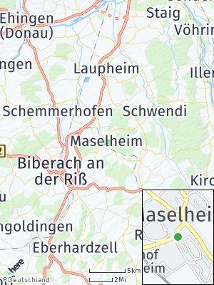 Here Map of Maselheim
