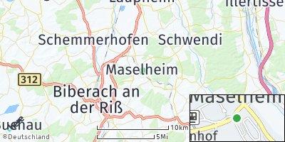 Google Map of Maselheim