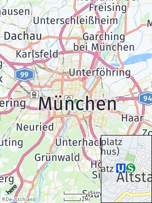 Here Map of München