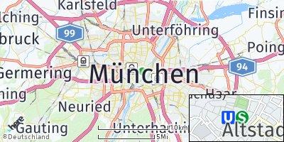 Google Map of München