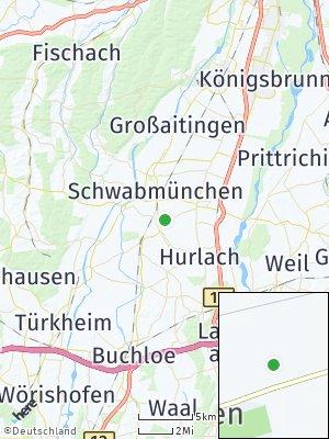 Here Map of Langerringen