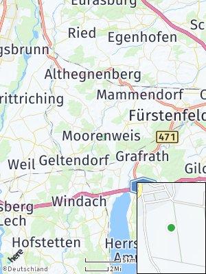 Here Map of Moorenweis
