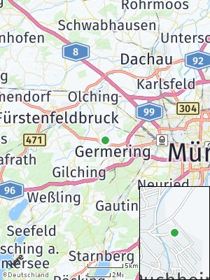 Here Map of Puchheim