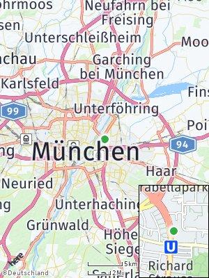 Here Map of Bogenhausen