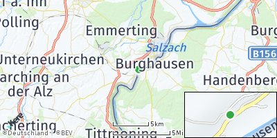 Google Map of Bergham