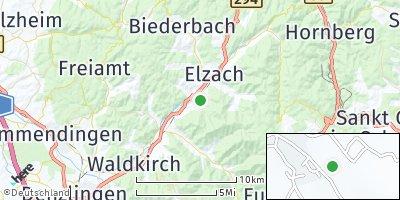 Google Map of Winden im Elztal