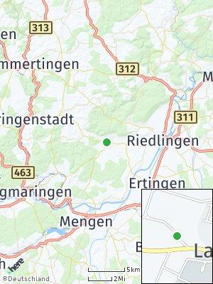 Here Map of Langenenslingen