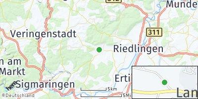 Google Map of Langenenslingen