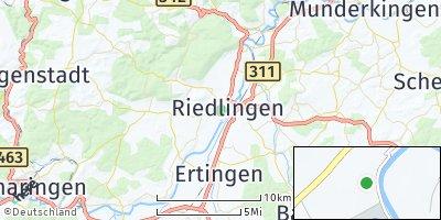 Google Map of Riedlingen