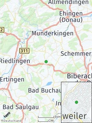 Here Map of Uttenweiler