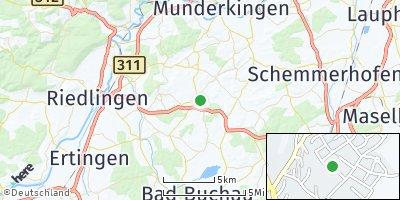 Google Map of Uttenweiler
