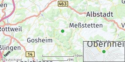 Google Map of Obernheim
