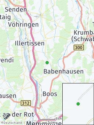Here Map of Oberroth bei Illertissen