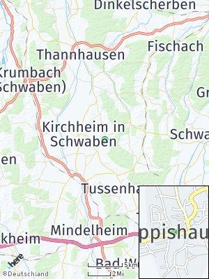 Here Map of Eppishausen
