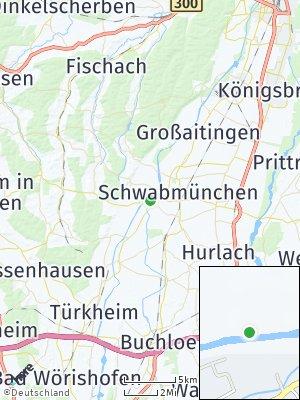 Here Map of Hiltenfingen