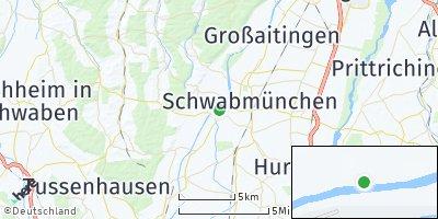 Google Map of Hiltenfingen