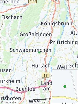 Here Map of Untermeitingen