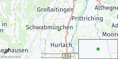 Google Map of Untermeitingen