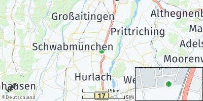 Google Map of Klosterlechfeld