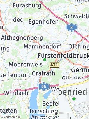 Here Map of Landsberied