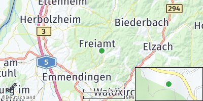 Google Map of Freiamt